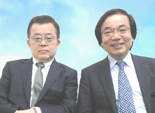 税理士 西尾武記先生と不動産鑑定士 小林穂積